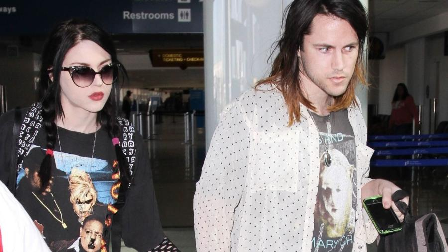 O casal Frances Cobain e Isaiah Silva, que ficou junto durante seis anos - Bauer-Griffin/GVK/Getty Images