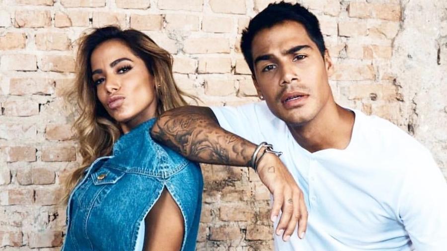 Anitta e Micael Borges - Reprodução/Instagram/micael