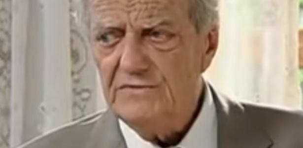 O ator e diretor Henrique Martins