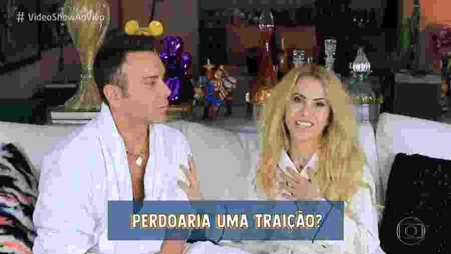 Joelma conversa com Matheus Mazzafera - Reprodução/Globo