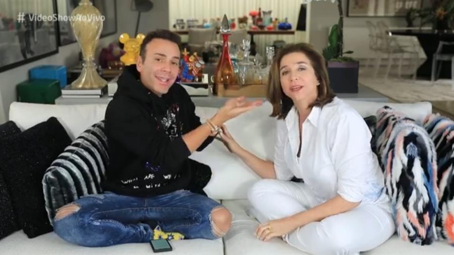 """Marisa Orth falou da sua vida amorosa no """"Vídeo Show"""" - Reprodução/Globo"""
