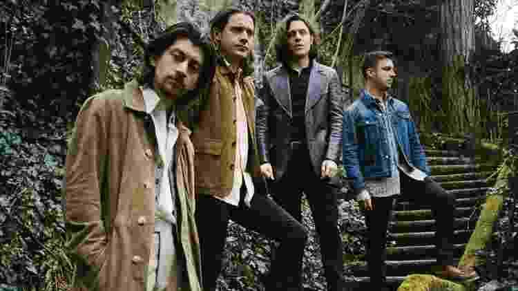 O grupo Arctic Monkeys - Divulgação - Divulgação