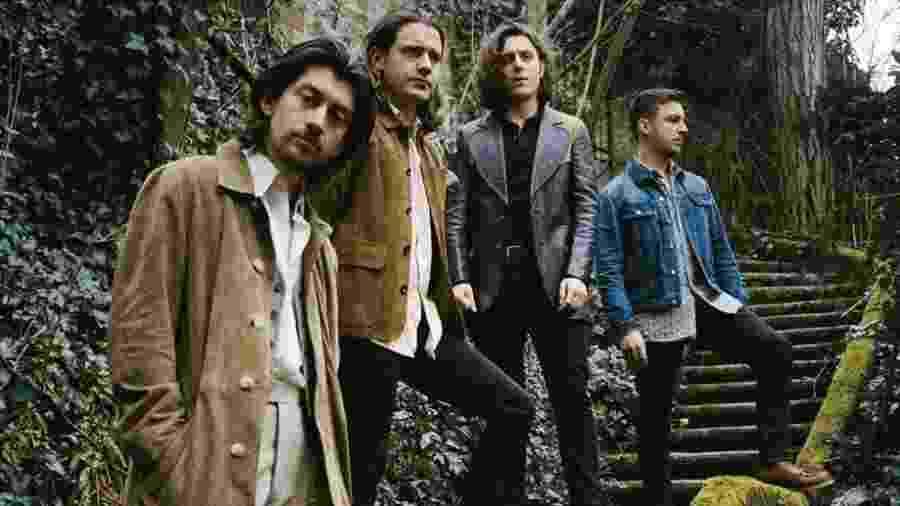 O grupo Arctic Monkeys - Divulgação