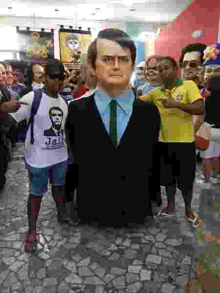 Boneco gigante do presidente Jair Bolsonaro (PSL) não deve mais desfilar nas ladeiras em Olinda - Divulgação