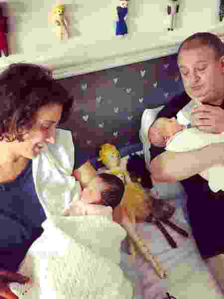 Paola Carosella se derrete pelos filhos de Erick Jacquin - Reprodução/Instagram