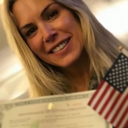 Joana Prado comemora dupla cidadania - Reprodução Instagram