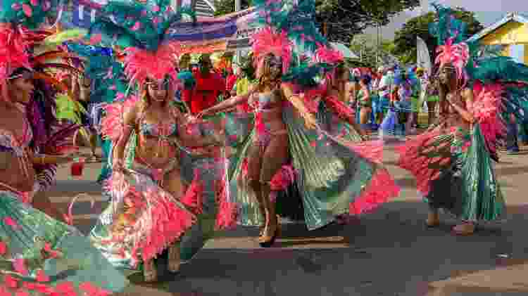 Carnaval de Trinidad e Tobago  - John de la Bastide/Getty Images - John de la Bastide/Getty Images
