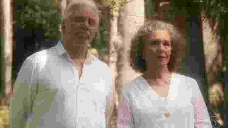 """Reginaldo Faria e Irene Ravache em cena de """"Espelho da Vida"""" - Reprodução/Globo - Reprodução/Globo"""