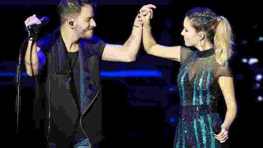 Após 12 anos separados, Sandy & Junior voltam aos palcos e apresentam a turnê Nossa História - Manuela Scarpa/Brazil News