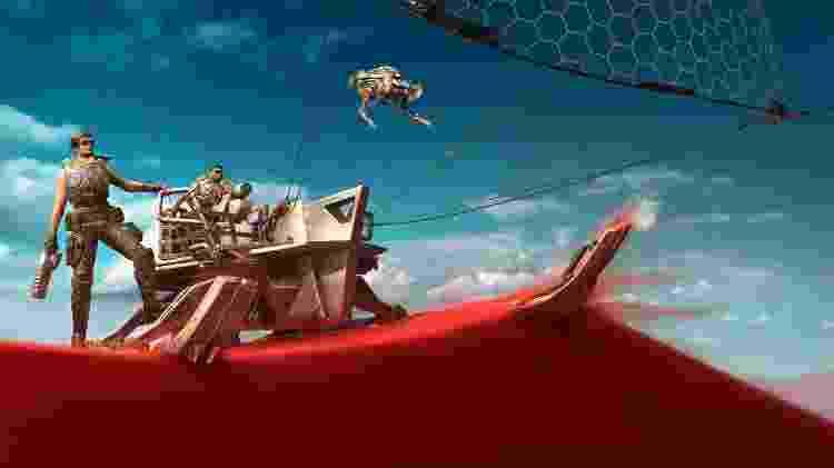 Gears 5 Bote - Divulgação - Divulgação