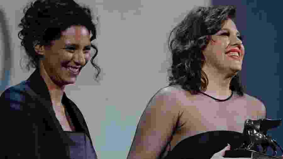 Bárbara Paz é premiada no Festival de Veneza - Reprodução/Isntagram
