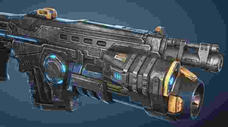Gears 5 Arma - Reprodução - Reprodução