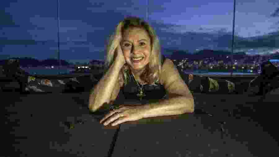 A atriz Vera Fischer em sua casa, no Rio de Janeiro - Marlene Bergamo/Folhapress