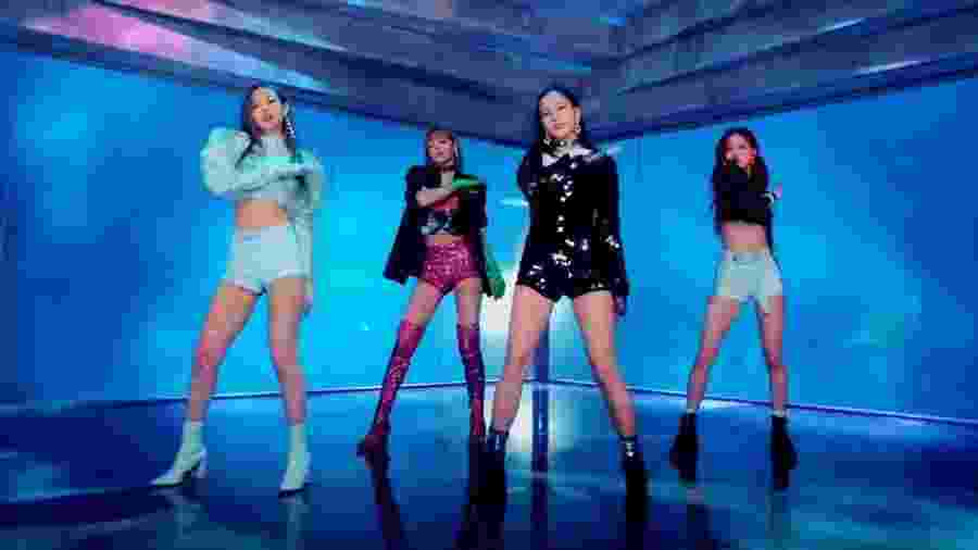 O grupo Blackpink no famoso clipe de DDU-DU DDU-DU - Reprodução/YouTube