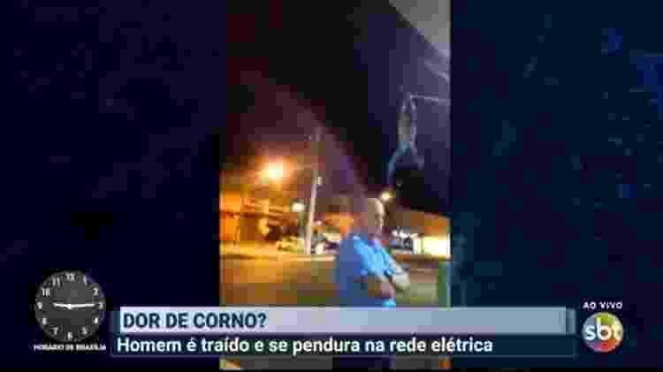 Imagem exibida no Primeiro Impacto, no SBT, na manhã de terça-feira (12) - Reprodução/TV
