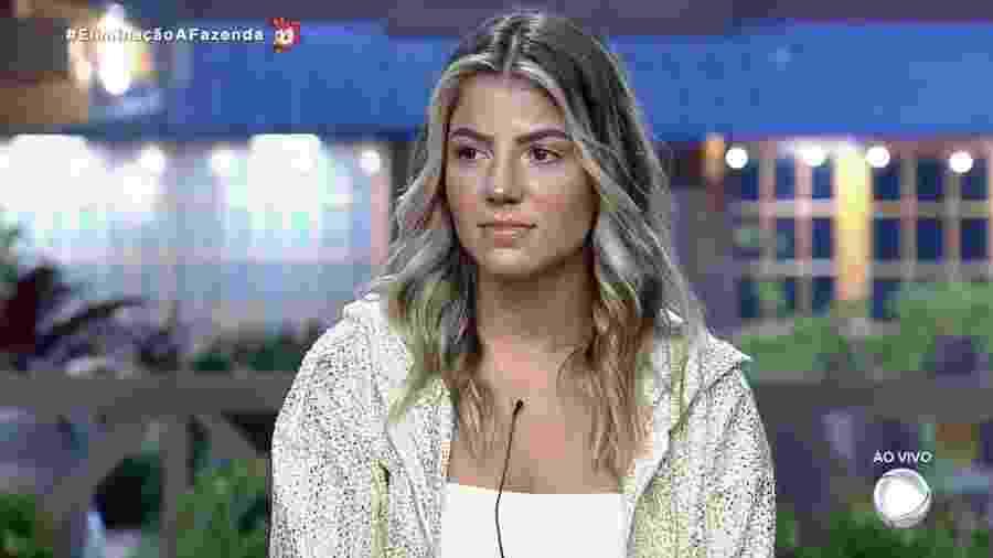 Hariany Almeida disputa preferência do público em última roça de A Fazenda 2019 - Reprodução/RecordTV
