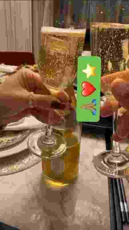 Hulk Paraíba mostra detalhes de jantar romântico com nova namorada - Reprodução/Instagram - Reprodução/Instagram