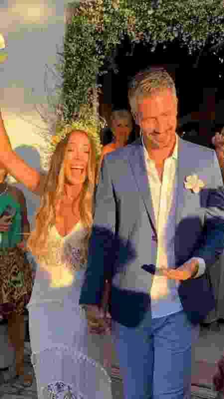 Danilo Vieira em seu casamento, em maio de 2019 - Reprodução/Instagram