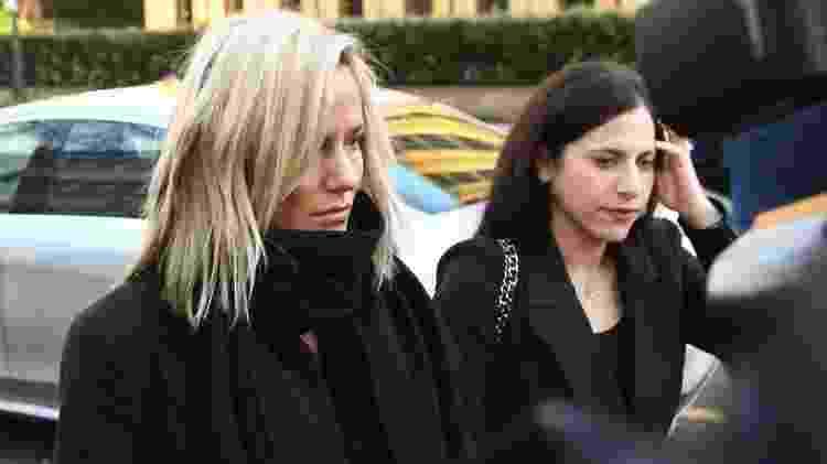 Flack chegando ao tribunal em 23 de dezembro - PA Media