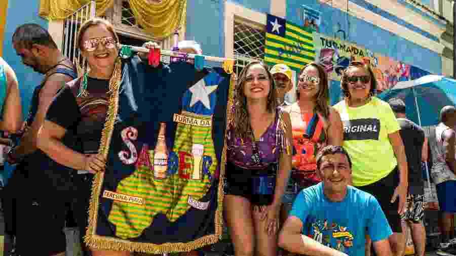 Piauienses da Turma da Saideira alugam casa há 15 anos em Olinda para curtir o Carnaval - Thiago Brandão