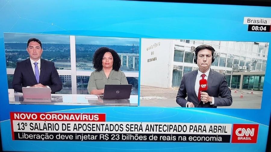 Sinal da CNN Brasil vaza antes mesmo da estreia - Reprodução/CNN Brasil