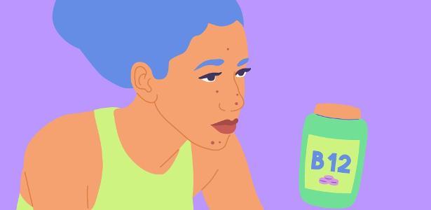 Estou tomando suplemento de vitamina B12, é normal aparecer mais espinhas? – UOL