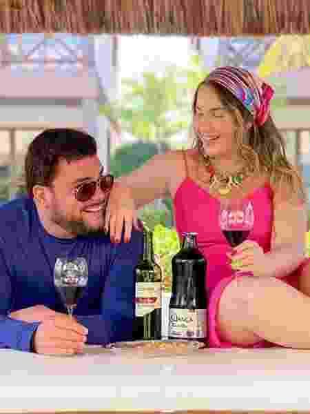 Rafael Cunha e sua esposa, Débora - Reprodução/Instagram - Reprodução/Instagram