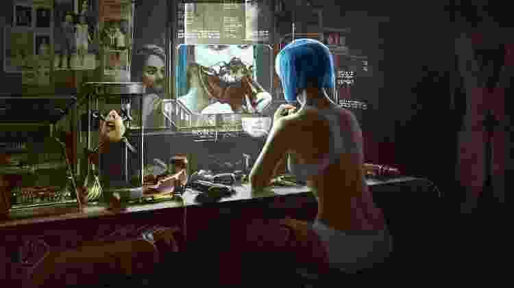 Cyberpunk 2077 - Divulgação/CD Projekt Red - Divulgação/CD Projekt Red