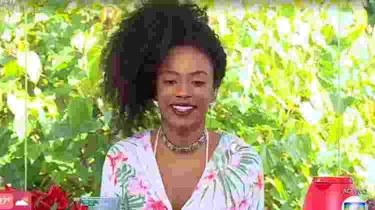 BBB 21: Lumena conversou com Ana Maria Braga - Reprodução/TV Globo - Reprodução/TV Globo