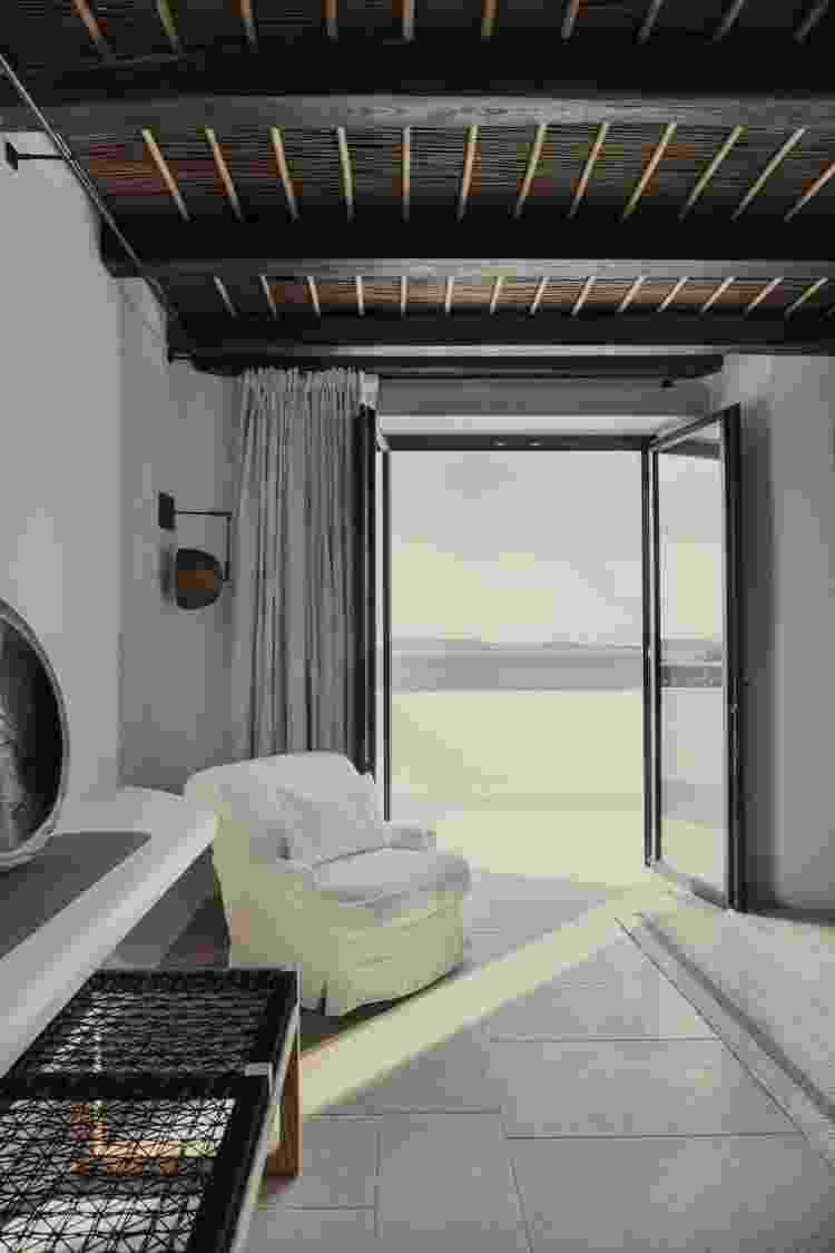 Vista do quarto do hotel Kalesma - Divulgação - Divulgação