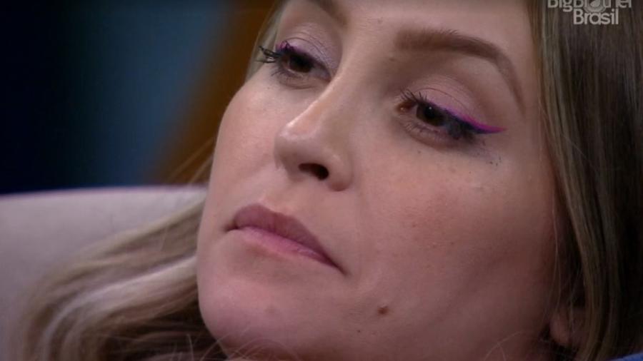 BBB 21: Carla Diaz assiste Gilberto e Sarah falando mal de Juliette - Reprodução/ Globoplay