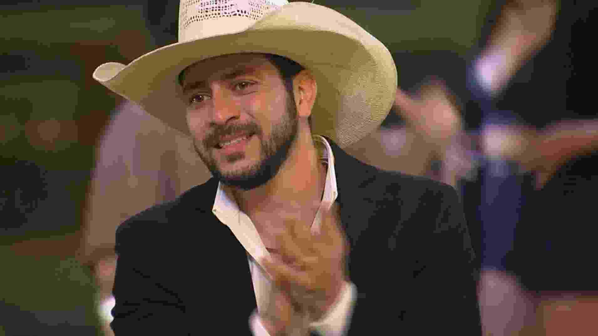 BBB 21: Caio se empolga com festa do líder com tema agronegócio - Reprodução/ Globoplay