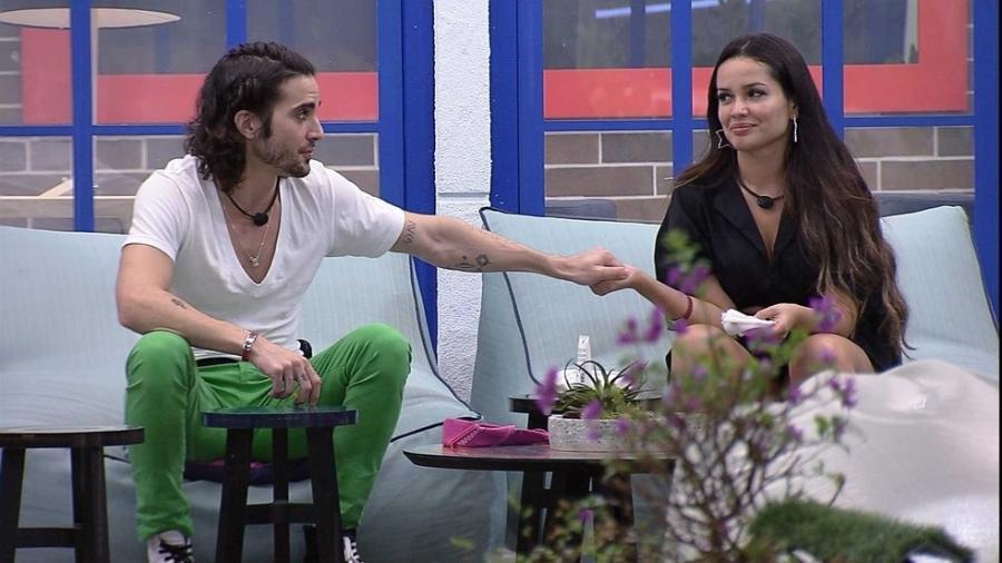 BBB 21: Fiuk se desculpa com Juliette - Reprodução/Globoplay