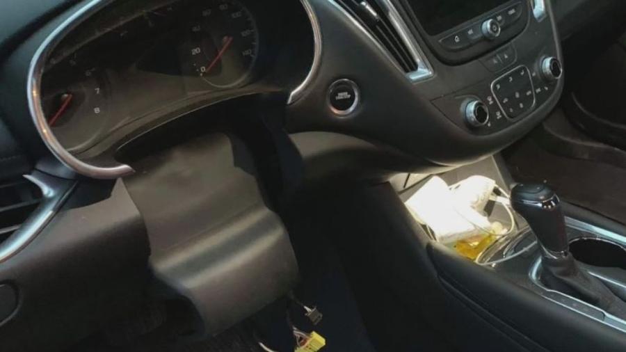 Chevrolet Equinox tem volante roubado - Divulgação