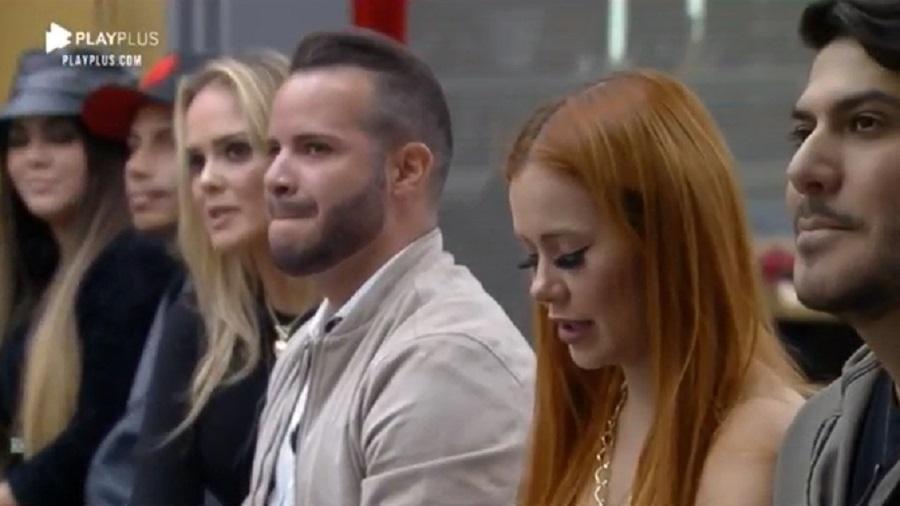 Power Couple: Mari e Matheus, Filipe e Nina e Mirela e Yugnir estão na DR - Reprodução/RecordTV
