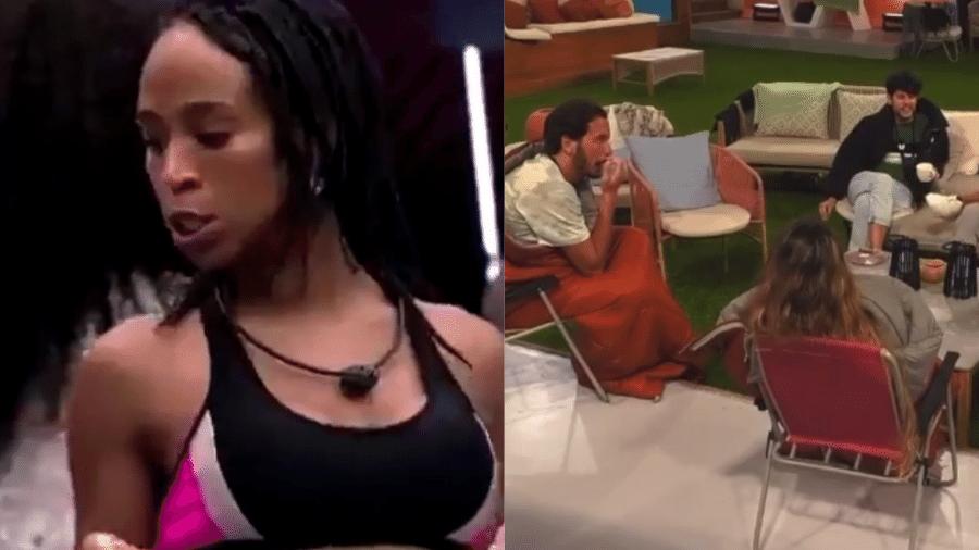 """BBB 21: Os participantes do """"Big Brother Portugal"""" comentaram sobre Karol Conká e Juliette - Reprodução/Globoplay/Twitter"""