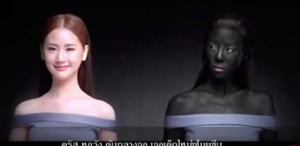 Propaganda gerou debate sobre racismo introjetado na sociedade tailandesa - Reprodução