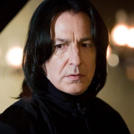 Alan Rickman como Severo Snape - Reprodução