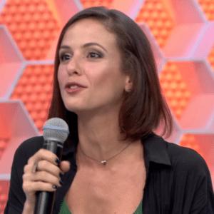 Atriz foi ao programa no dia errado - Reprodução/TV Globo