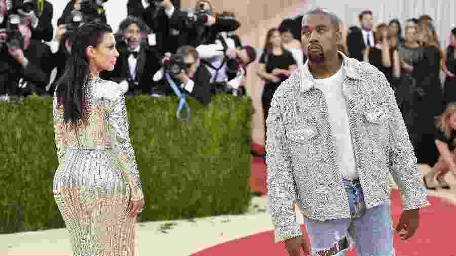 Kanye West no MET - Getty Images