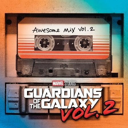 """Capa do álbum """"Awesome Mix Vol. 2"""", trilha sonora do filme """"Guardiões da Galáxia Vol. 2"""" - Divulgação"""