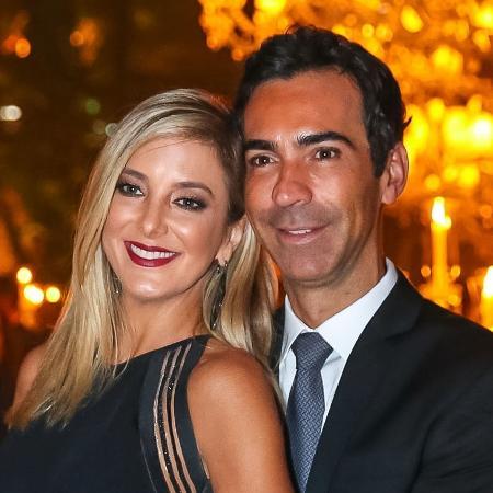 Ticiane Pinheiro e Cesar Tralli - Raphael Castello/AgNews