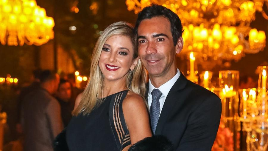 """Ticiane Pinheiro e Cesar Tralli se reconciliaram há quatro dias; nas redes sociais, o jornalista escreveu: """"o amor venceu""""  - Raphael Castello/AgNews"""