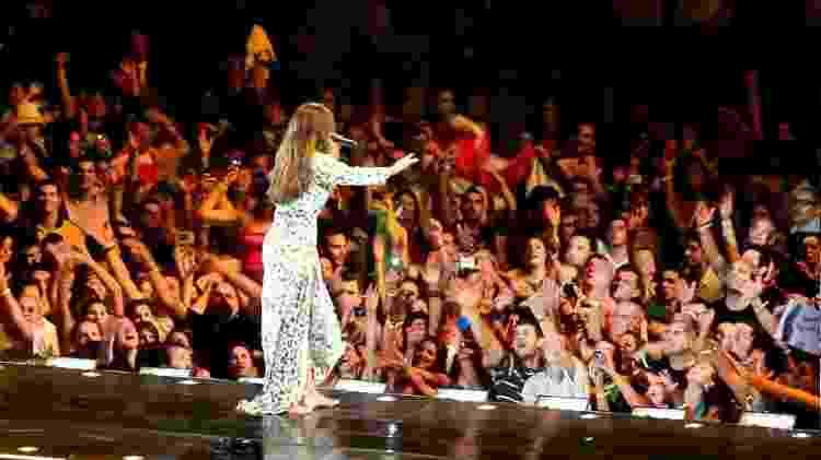 Ivete Sangalo se apresenta no Madison Square Garden, em 2010 - Reprodução/YouTube - Reprodução/YouTube