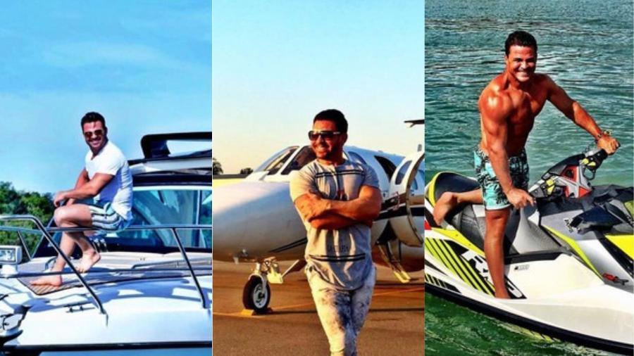 Eduardo Costa gosta de ostentar seus bens nas redes sociais - Reprodução/Instagram/@eduardocosta