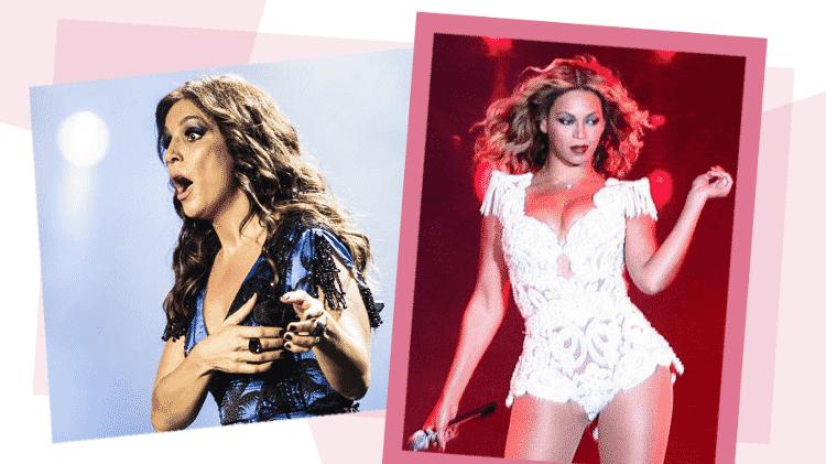 Ivete e Beyoncé levantaram o público do Rock in Rio 2013 - Arte UOL/Adriano Vizoni/Folhapress/Antonio Lacerda/EFE - Arte UOL/Adriano Vizoni/Folhapress/Antonio Lacerda/EFE