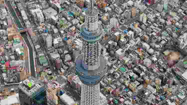 Tokyo Sky Tree, em Tóquio - Kyodo/Reuters - Kyodo/Reuters