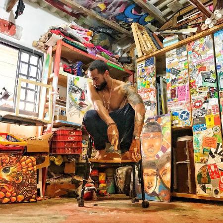 """Capa do single """"Arte do Gueto""""  - Divulgação"""