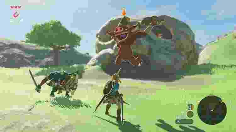 """Melhor jogo de 2017, """"The Legend of Zelda: Breath of the Wild"""" reinventa os games de aventura e mundo aberto - Reprodução"""