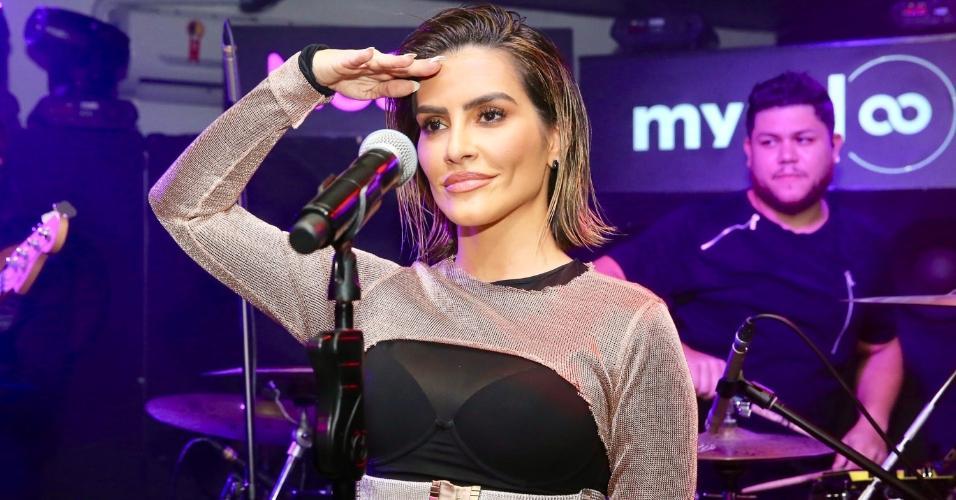 """Cleo Pires estreia como cantora e apresenta em São Paulo o repertório do seu primeiro EP, """"Jungle Kid"""""""